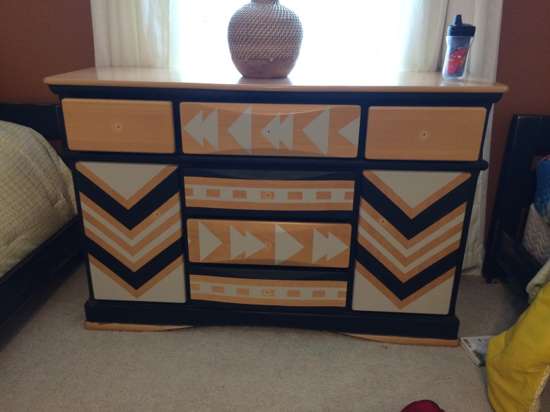 Painting Patterns On Furniture Life Of A Boho Dreamer